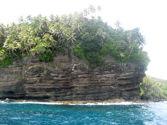 scenery in American Samoa